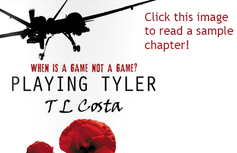 click here to read a sample chapter of Playing Tyler